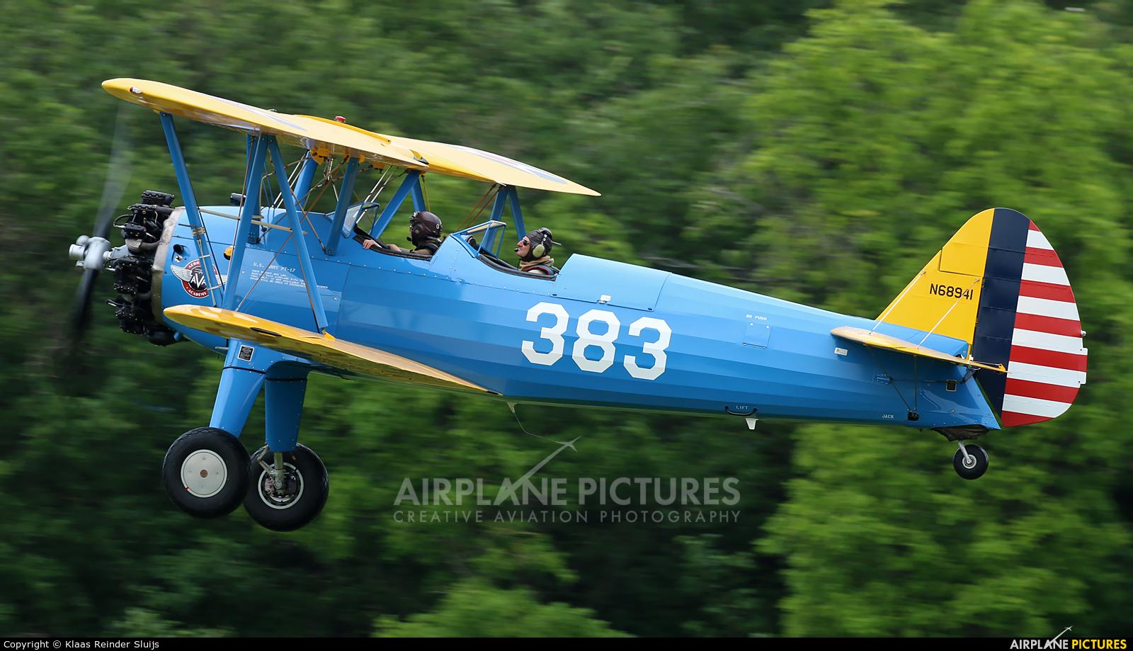 Private N68941 aircraft at La Ferté-Alais