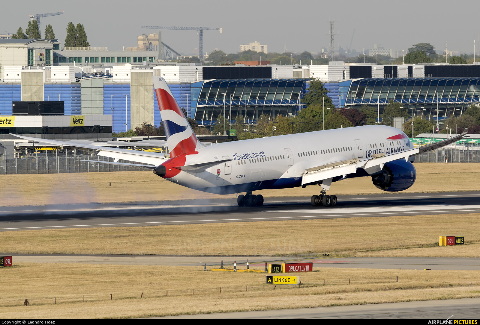 British Airways G-ZBKA aircraft at London - Heathrow