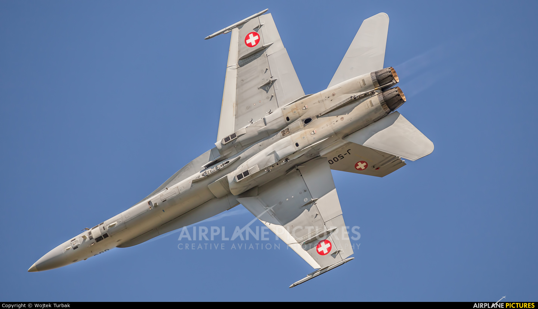 Switzerland - Air Force J-5005 aircraft at Ostrava Mošnov