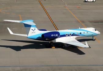 VP-CJM - Private Gulfstream Aerospace G-V, G-V-SP, G500, G550