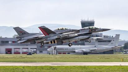 691 - Norway - Royal Norwegian Air Force General Dynamics F-16B Fighting Falcon