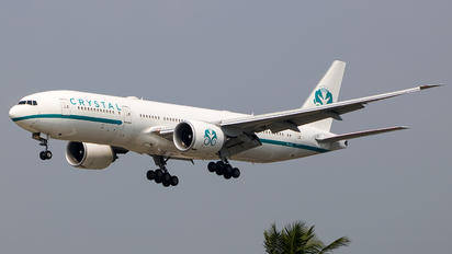 P4-XTL - Crystal Luxury Air Boeing 777-200LR
