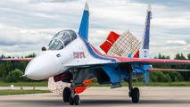 """RF-81701 - Russia - Air Force """"Russian Knights"""" Sukhoi Su-30SM aircraft"""