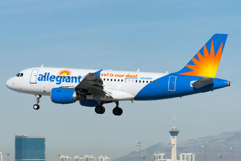 N329NV - Allegiant Air Airbus A319
