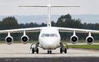 Rare visit of Jota Aviation BAe146 to Ostrava