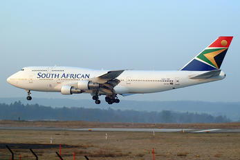 ZS-SKA - South African Airways Boeing 747-300
