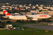 HB-JHI - Swiss Airbus A330-300 aircraft