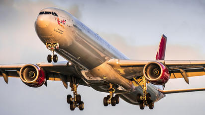 G-VFIT - Virgin Atlantic Airbus A340-600
