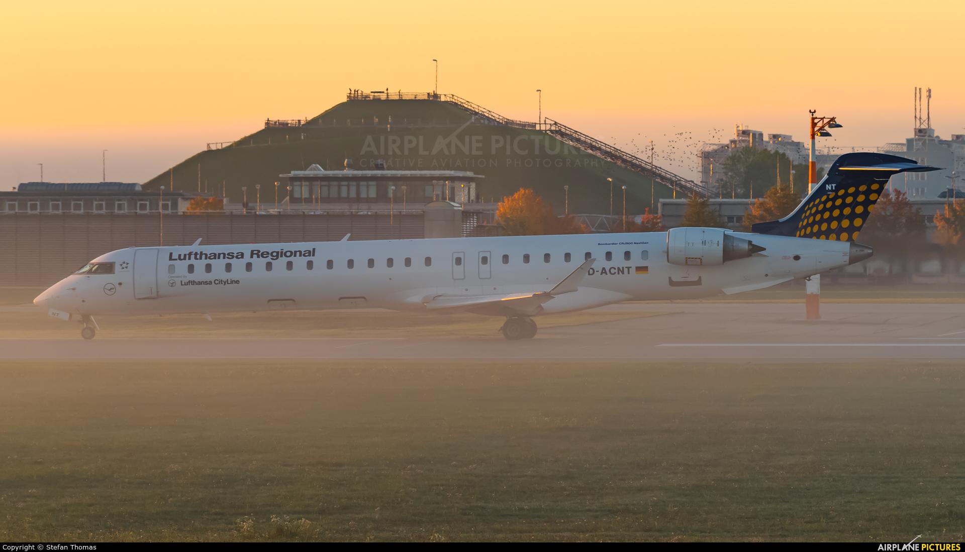 Lufthansa Regional - CityLine D-ACNT aircraft at Munich