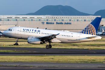 N816UA - United Airlines Airbus A319