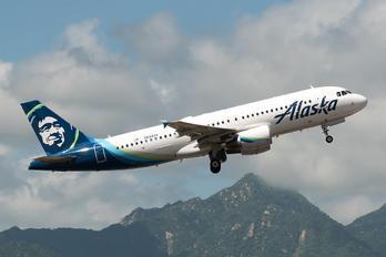 N844VA - Alaska Airlines Airbus A320