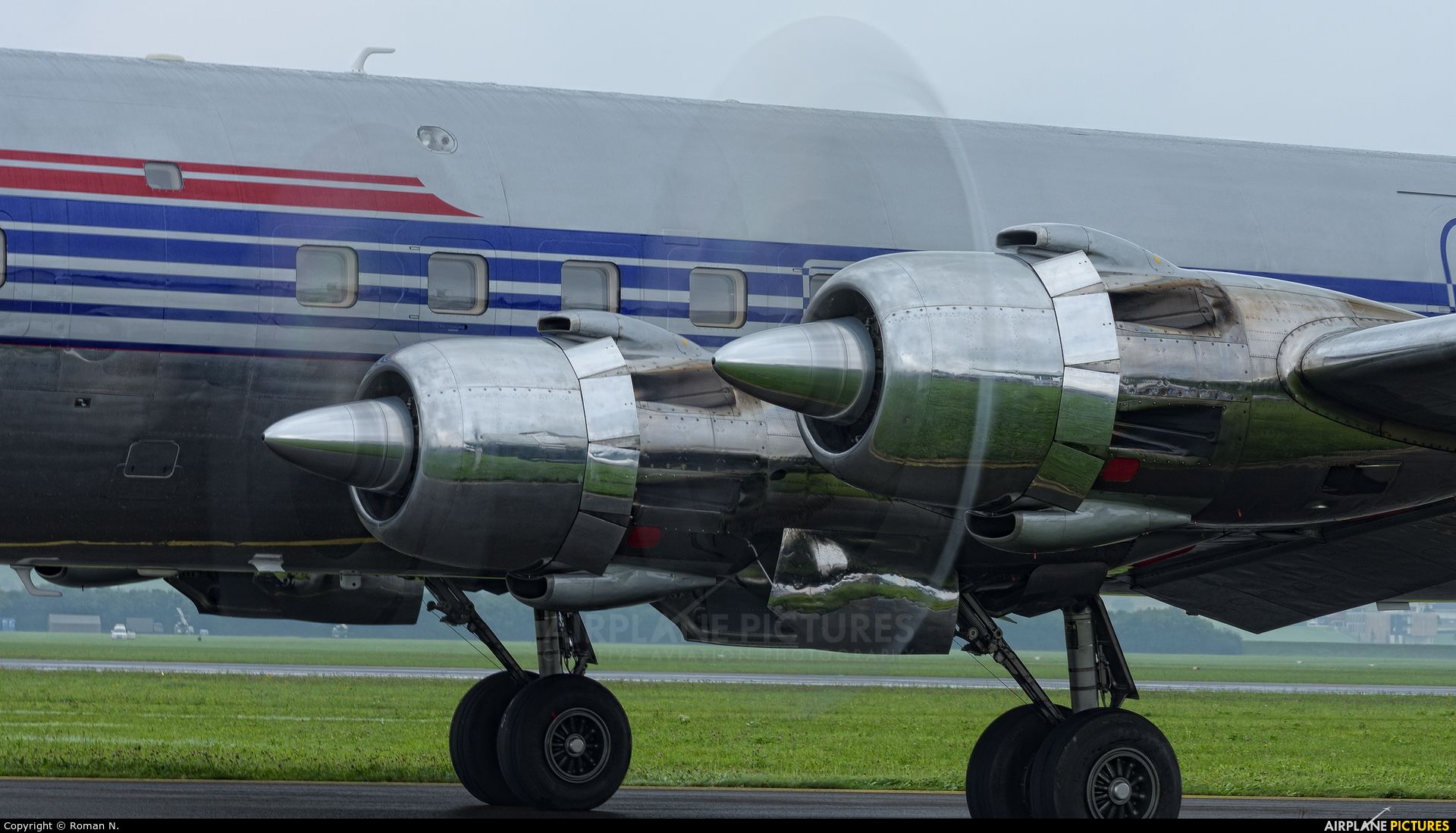 Red Bull OE-LDM aircraft at Zeltweg