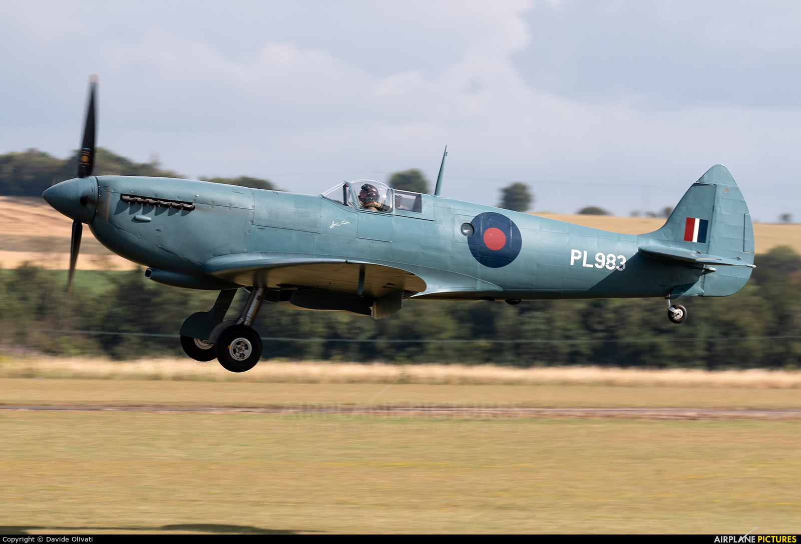 Hangar 11 PL965 aircraft at Duxford