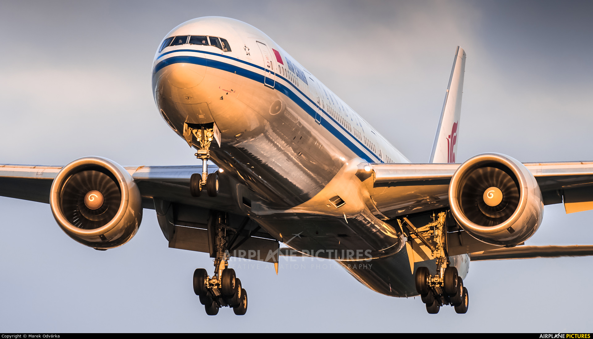 Air China B-2033 aircraft at London - Heathrow