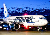 N338FR - Frontier Airlines Airbus A320 NEO aircraft