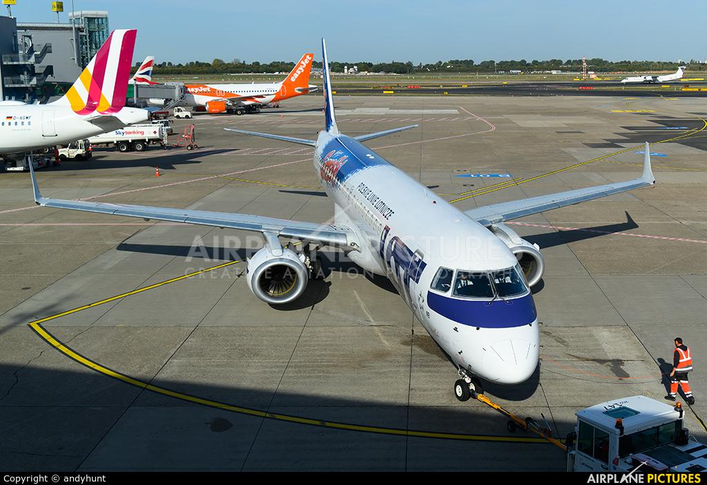 LOT - Polish Airlines SP-LNB aircraft at Düsseldorf