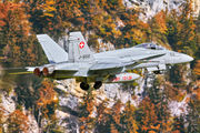 J-5012 - Switzerland - Air Force McDonnell Douglas F/A-18C Hornet aircraft