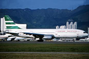 VR-HOK - Cathay Pacific Lockheed L-1011-1 Tristar