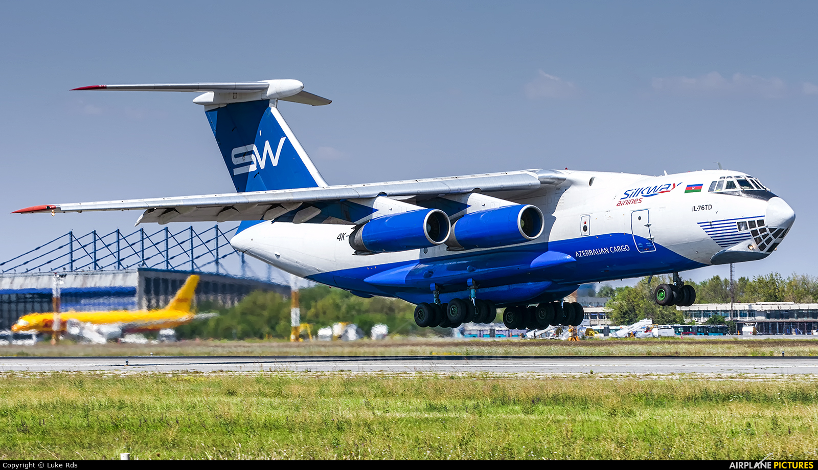 Silk Way Airlines 4K-AZ40 aircraft at Bucharest - Henri Coandă