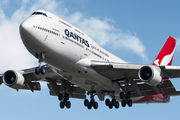 Rare charter flight by Qantas Boeing 747 to Barcelona title=