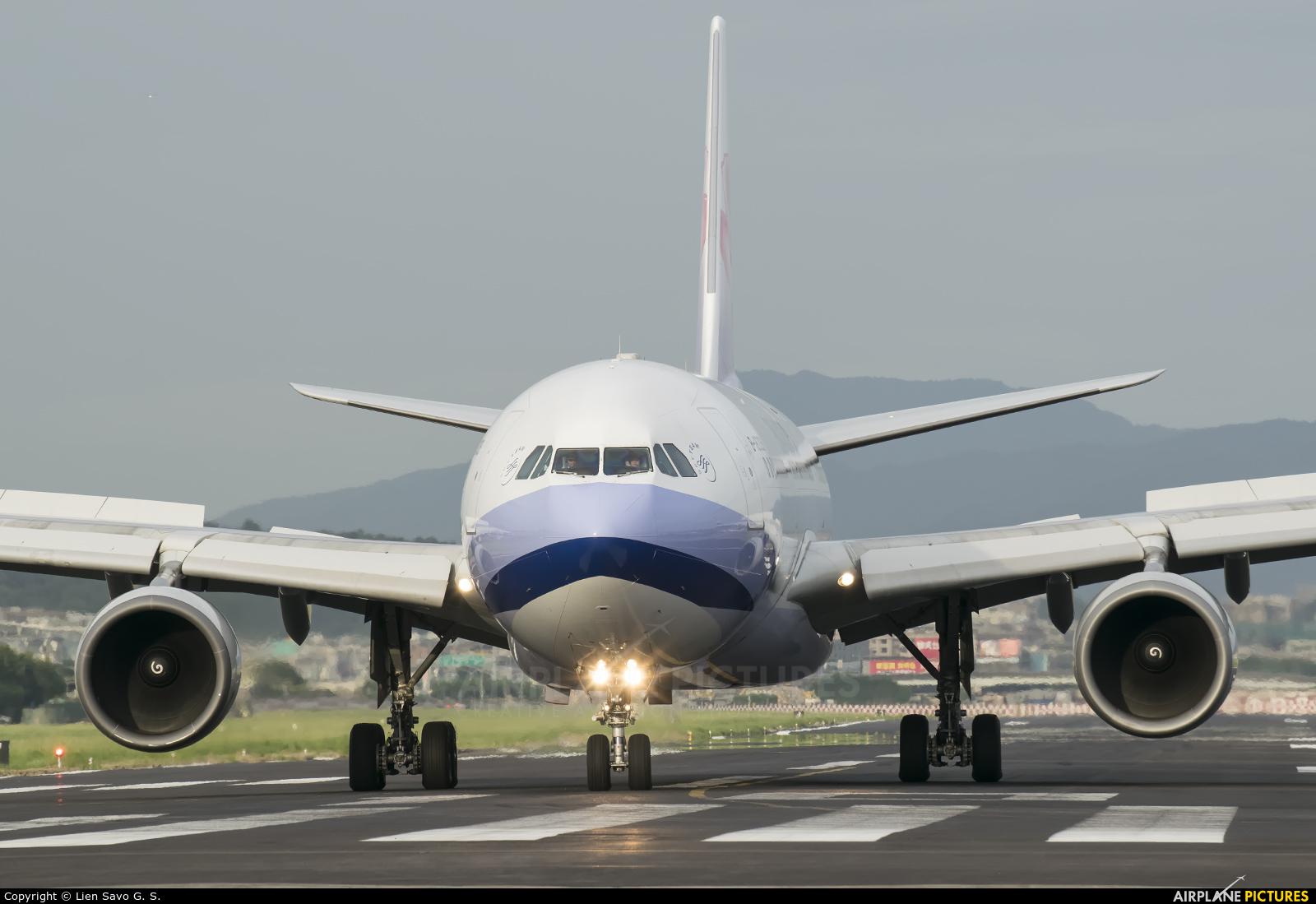China Airlines B-18309 aircraft at Taipei Sung Shan/Songshan Airport