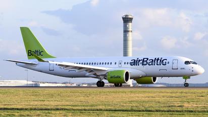 YL-AAS - Air Baltic Airbus A220-300