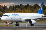 Ex-Air Astana A321 returns to AerCap making a rare visit in Helsinki title=