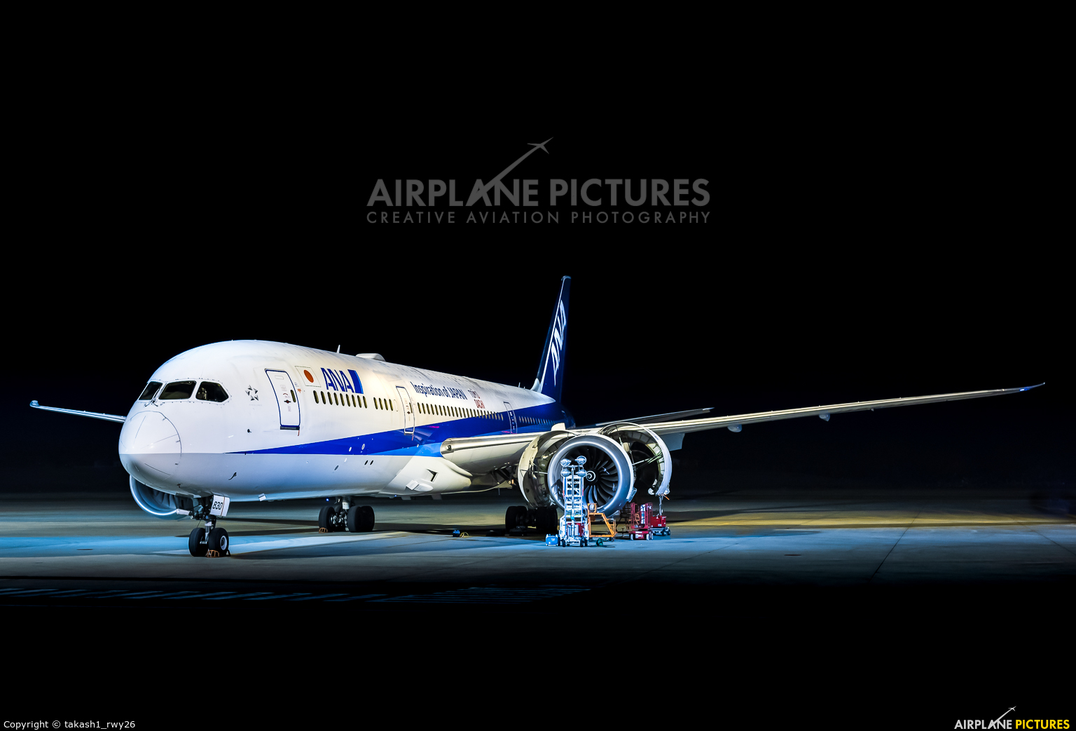 ANA - All Nippon Airways JA830A aircraft at Takamatsu