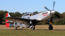OO-RYL - Private North American F-51D Mustang aircraft