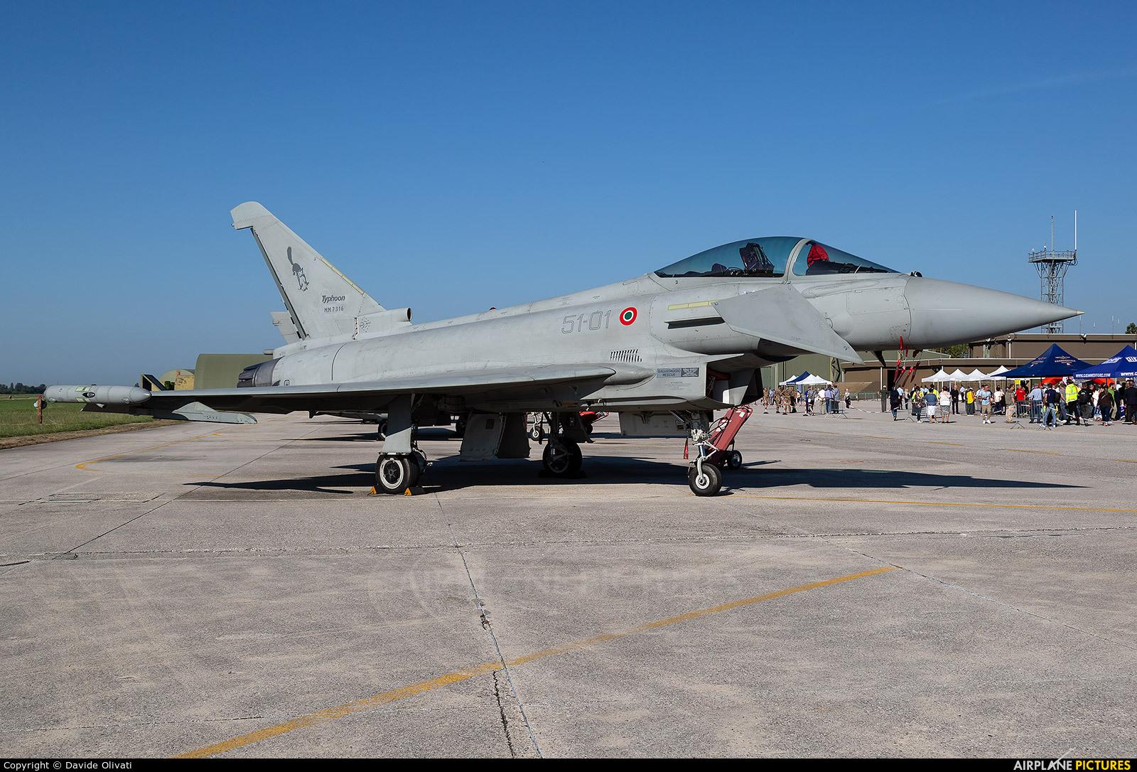 Italy - Air Force MM7313 aircraft at Treviso - Istrana