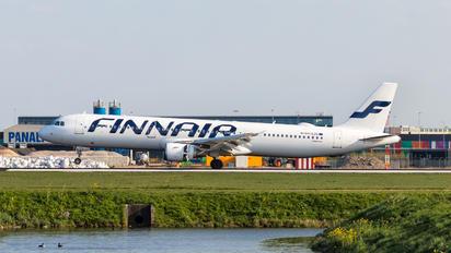 OH-LZE - Finnair Airbus A321