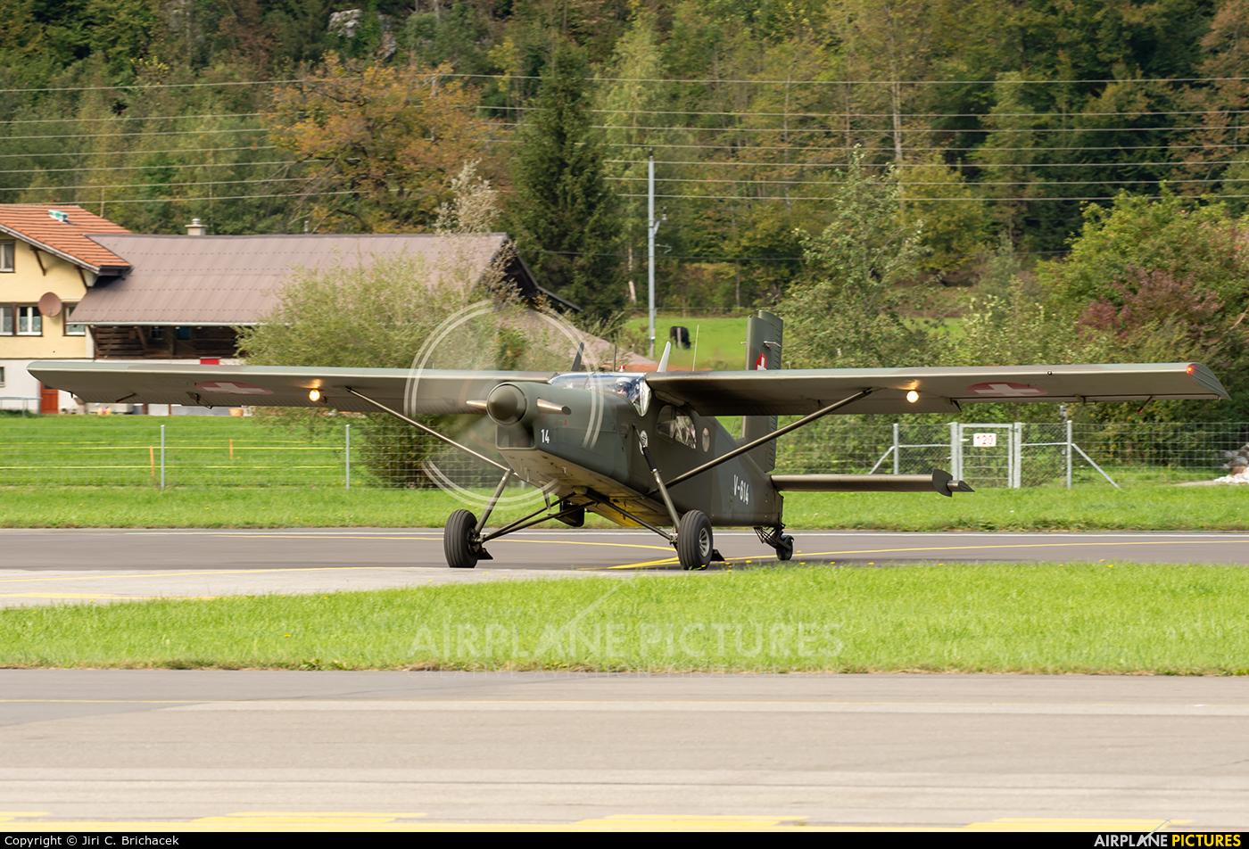 Switzerland - Air Force V-614 aircraft at Meiringen