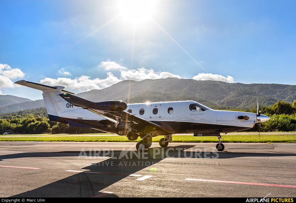 FLY 7 Executive Aviation SA OH-TRG aircraft at St. Tropez - La Mole