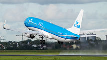 PH-HSE - KLM Boeing 737-800 aircraft
