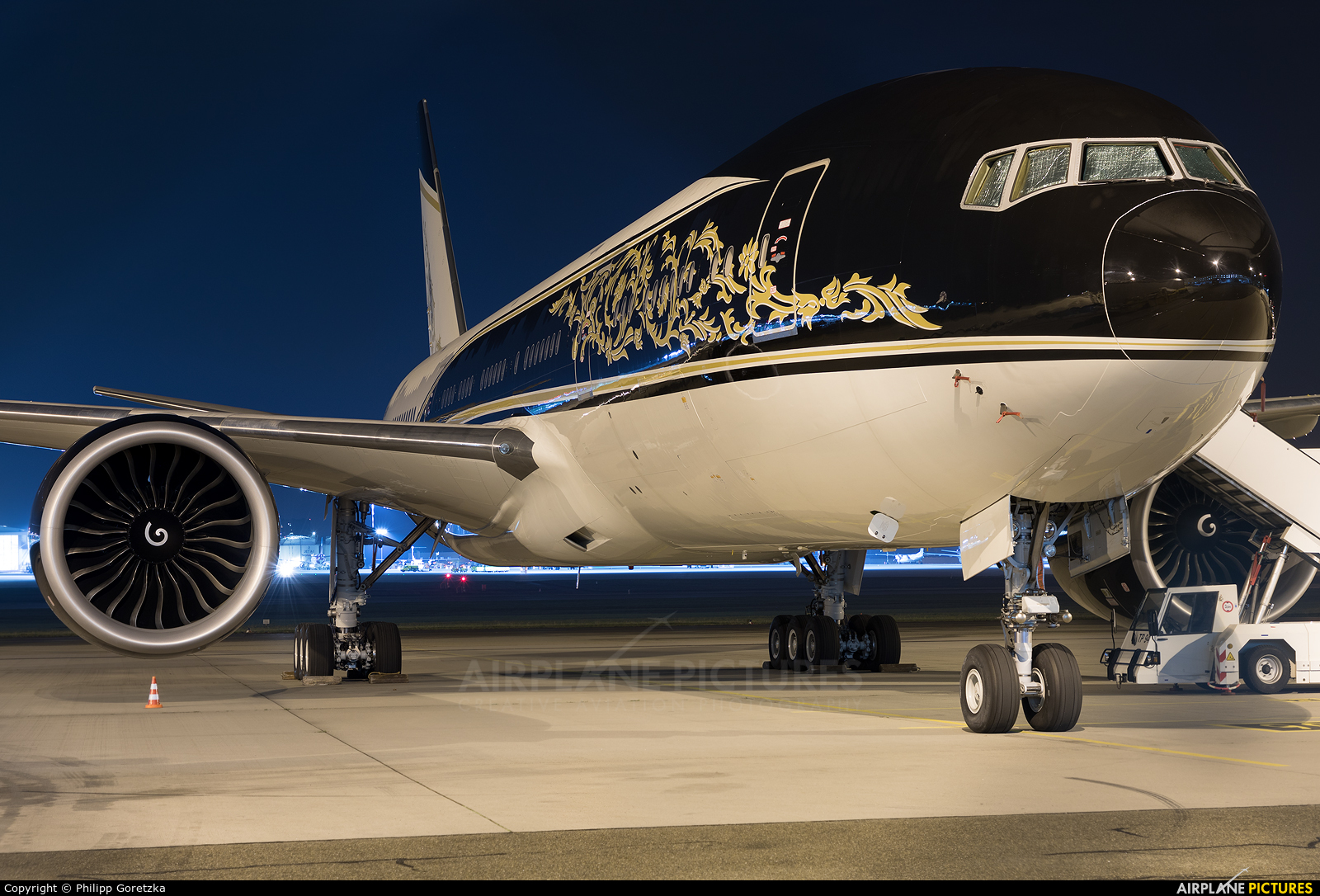 Equatorial Guinea - Government P4-SKN aircraft at Stuttgart