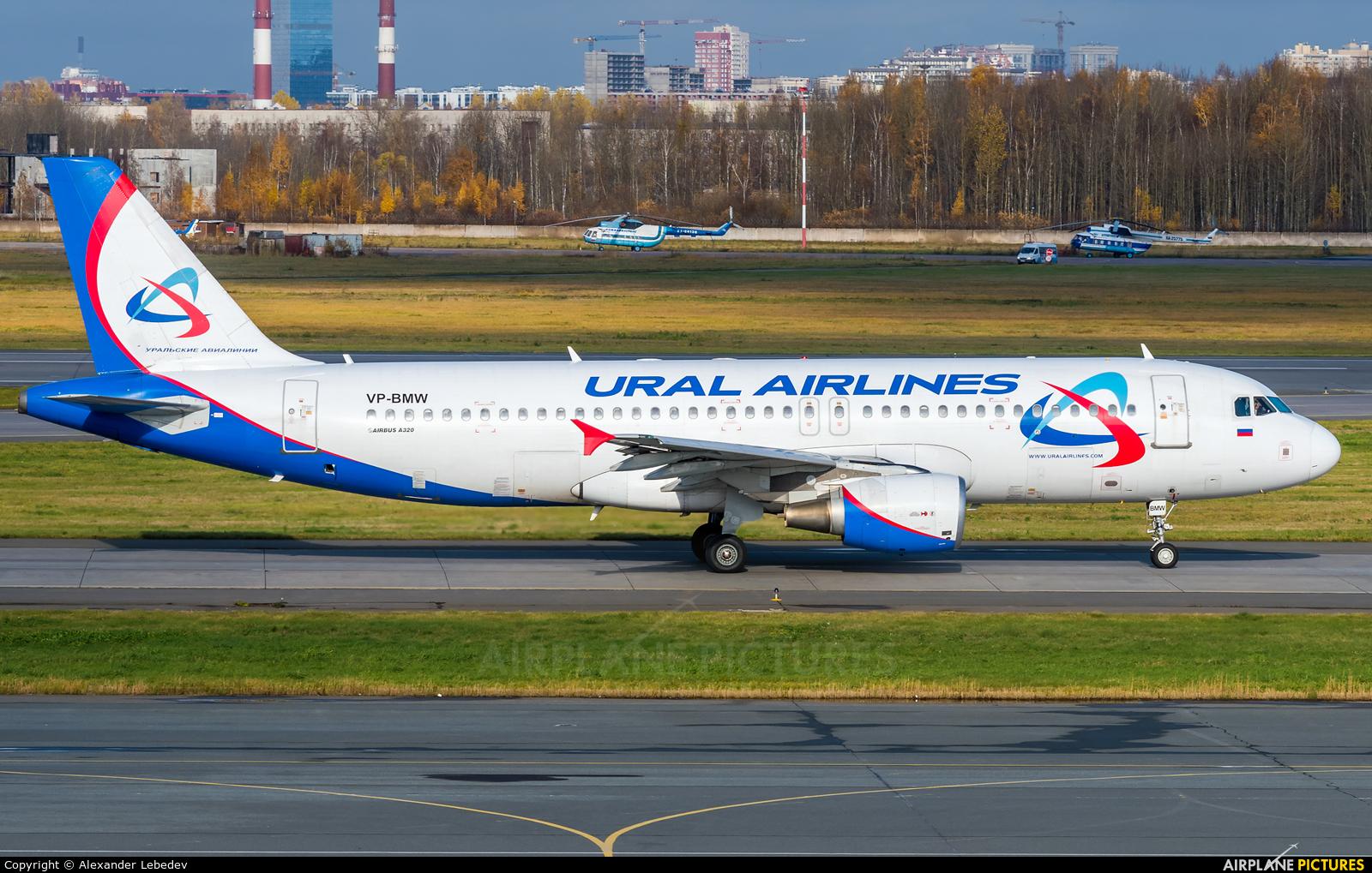 Ural Airlines VP-BMW aircraft at St. Petersburg - Pulkovo