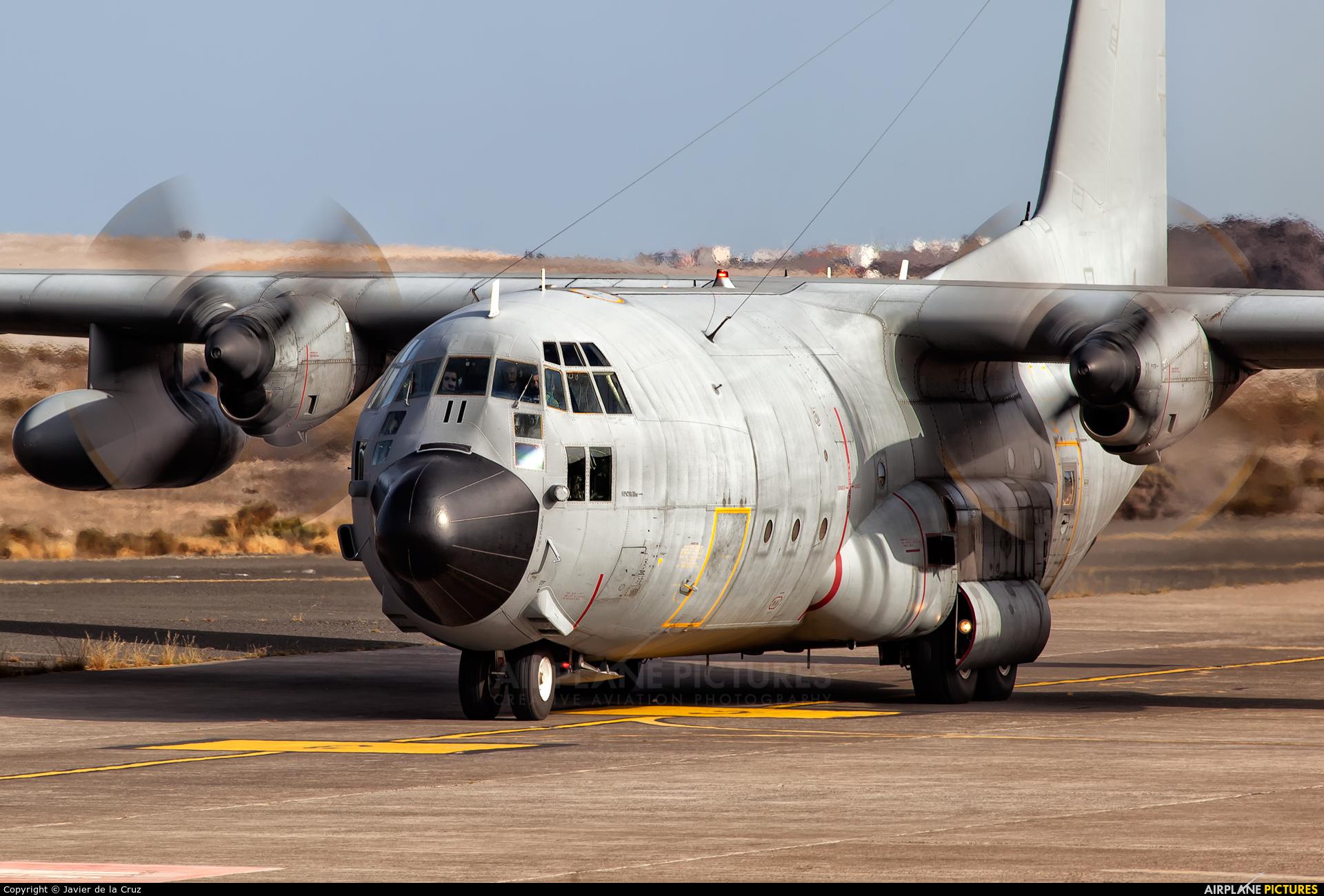 Spain - Air Force TK.10-11 aircraft at Aeropuerto de Gran Canaria