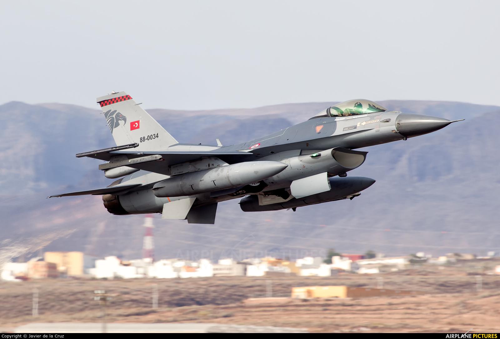 Turkey - Air Force 88-0034 aircraft at Aeropuerto de Gran Canaria