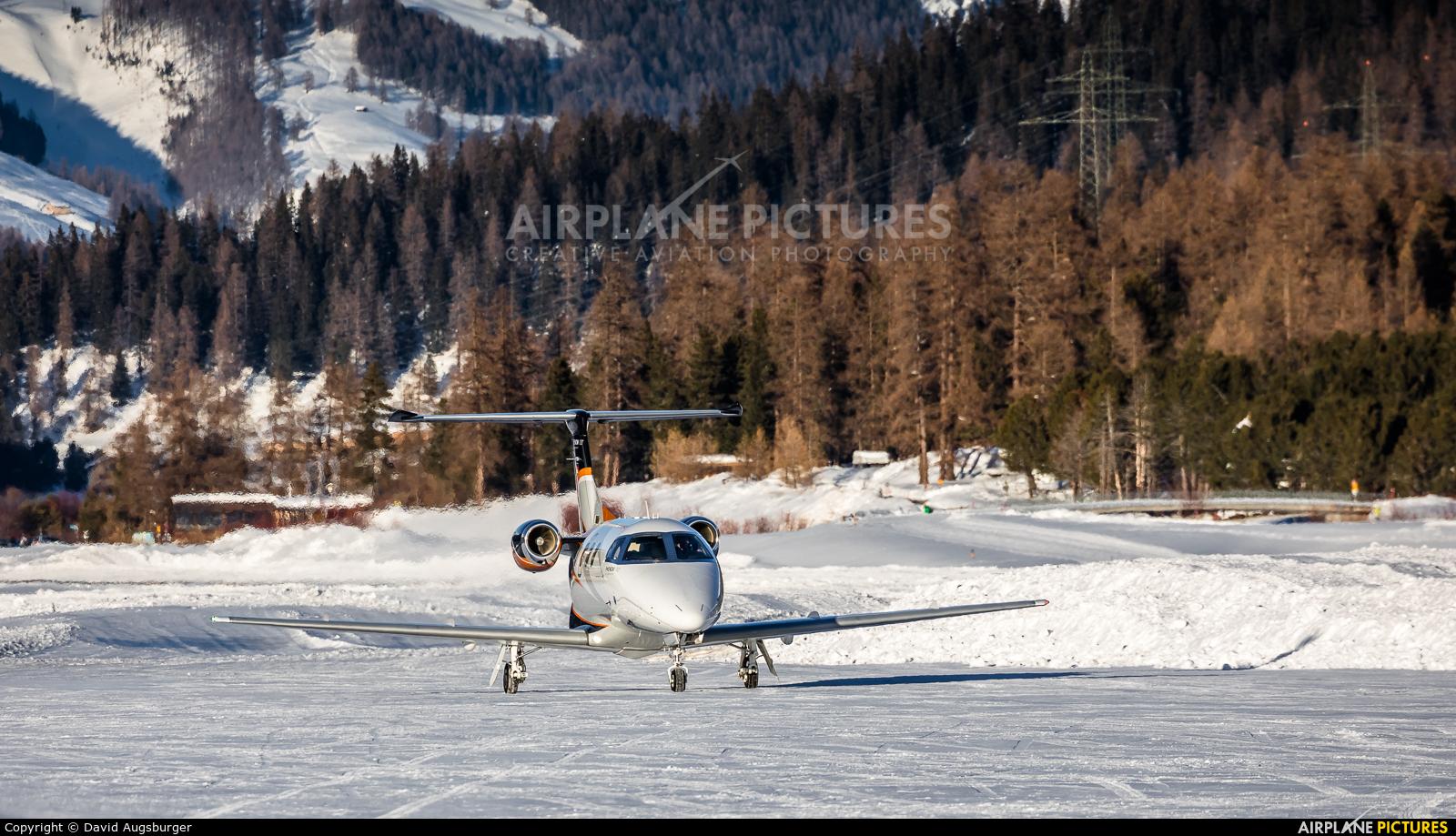 Private D-ICSH aircraft at Samedan - Engadin