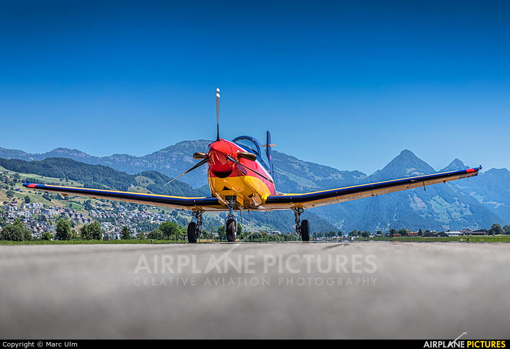 Private - aircraft at Buochs