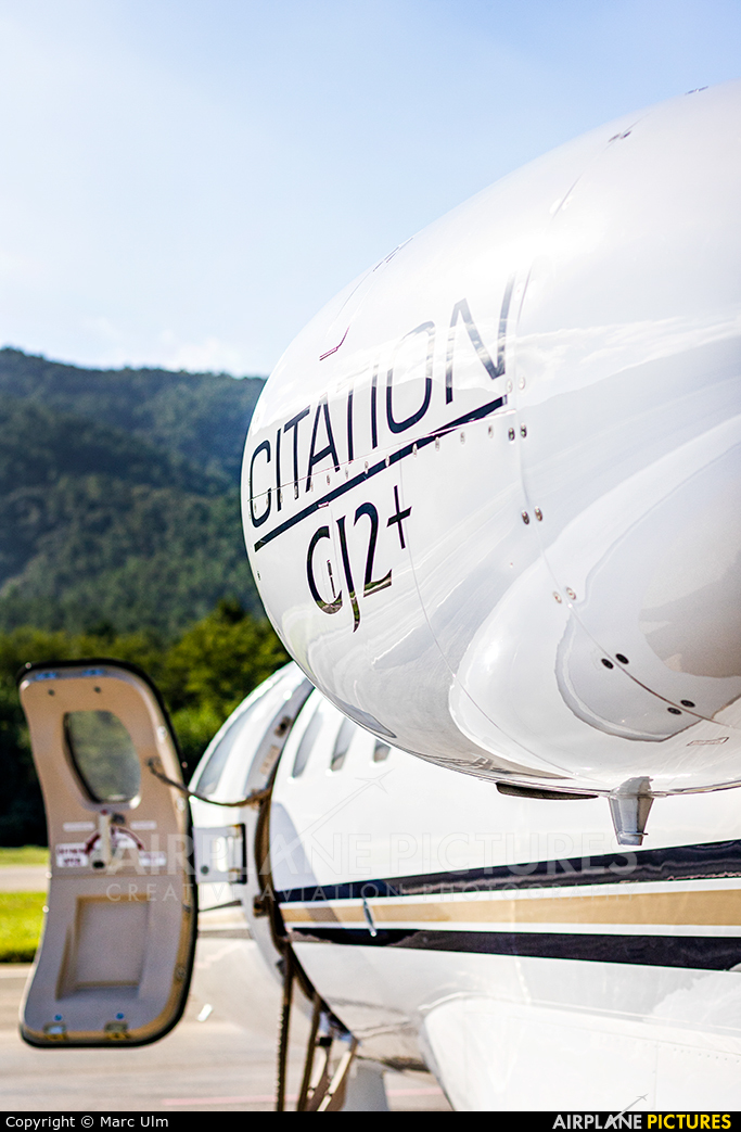 Swiss Private Flights HB-VER aircraft at St. Tropez - La Mole