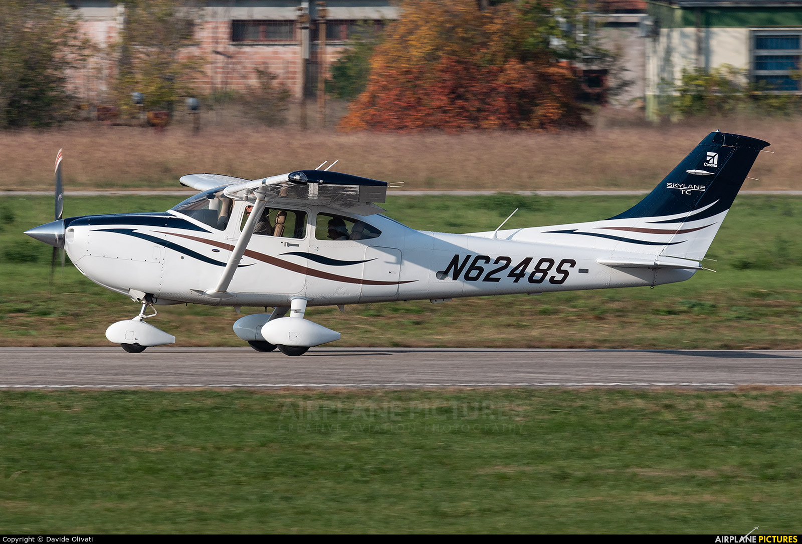 Private N6248S aircraft at Verona - Boscomantico
