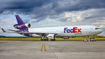 N580FE - FedEx Federal Express McDonnell Douglas MD-11F aircraft