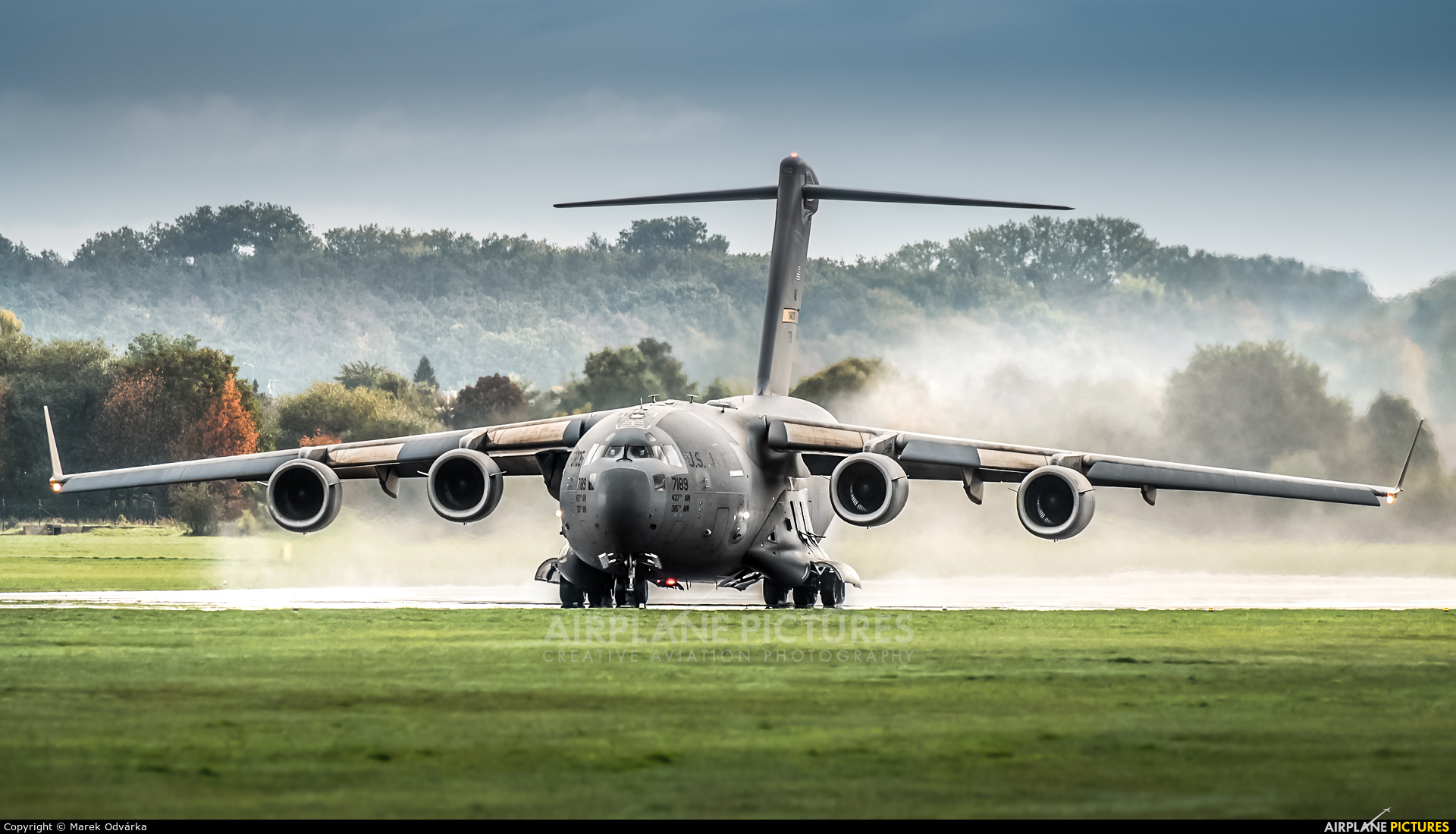 USA - Air Force 07-7189 aircraft at Pardubice