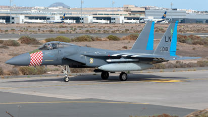84-0010 - USA - Air Force McDonnell Douglas F-15C Eagle