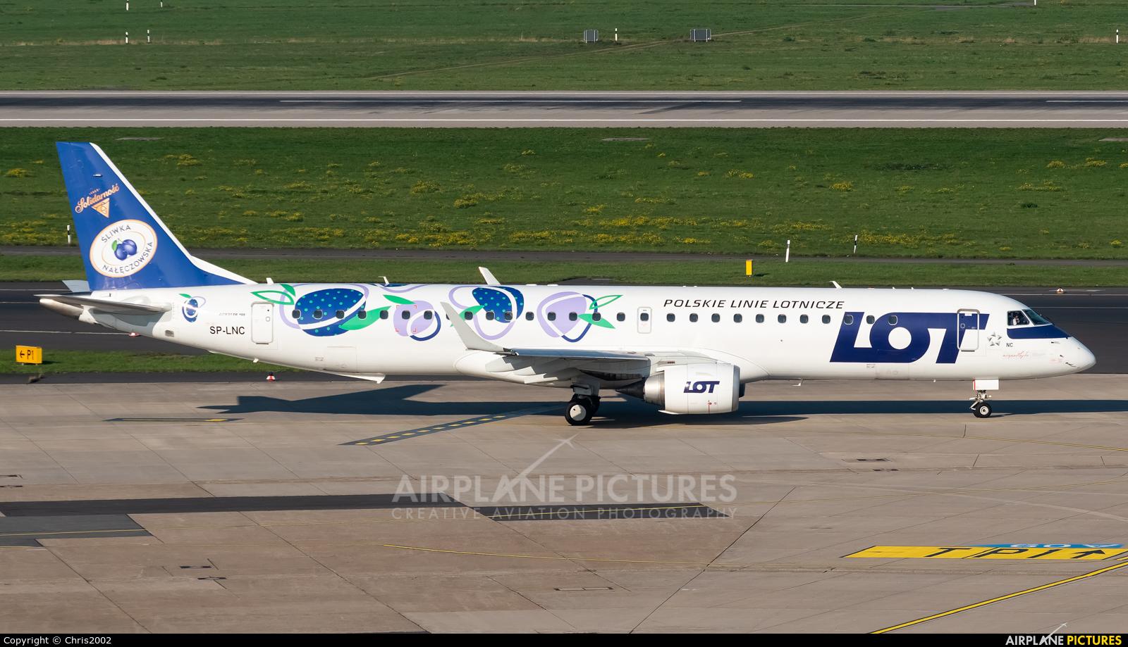 LOT - Polish Airlines SP-LNC aircraft at Düsseldorf