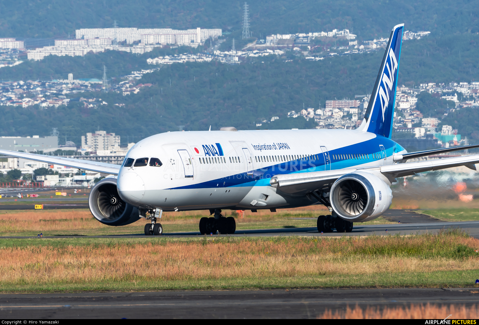 ANA - All Nippon Airways JA833A aircraft at Osaka - Itami Intl