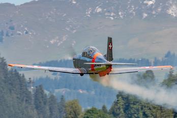 HB-RCJ - FFA Museum Pilatus P-3