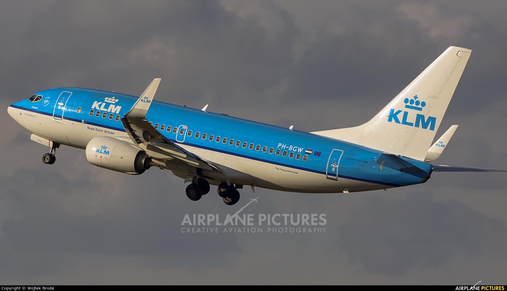 KLM PH-BGW aircraft at Berlin - Tegel
