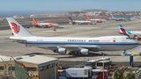 Rare visit of Air China Cargo B744 to Tenerife